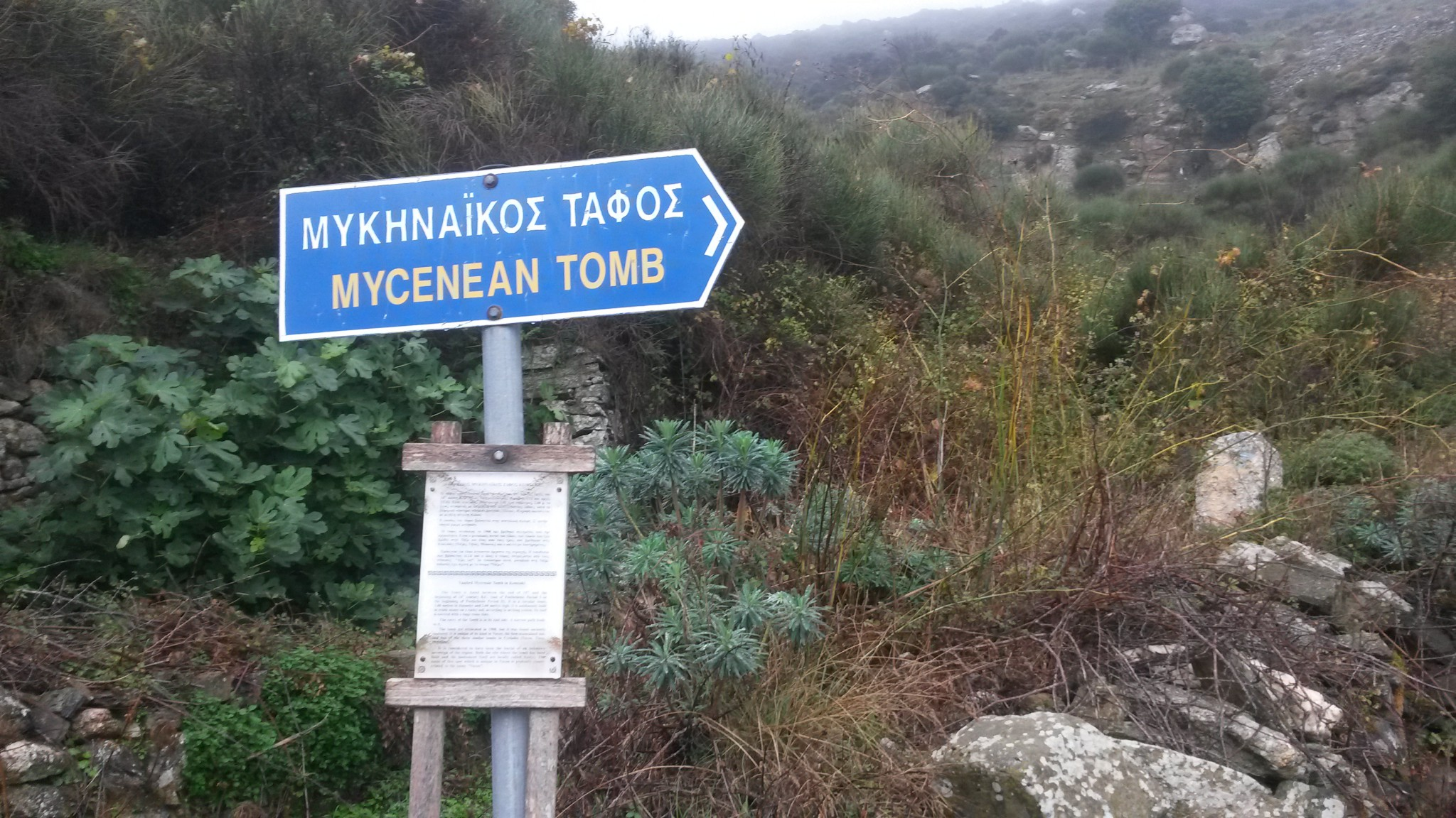 To the Mycenaean Tomb